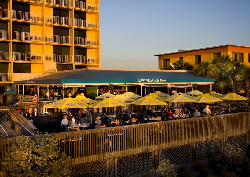 Sloppy Joes Bar Grill At The Bilmar Beach Resort In Treasure